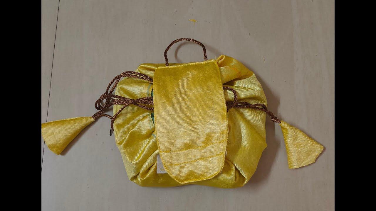 Make Up Bag | DIY | Easy to make at Home