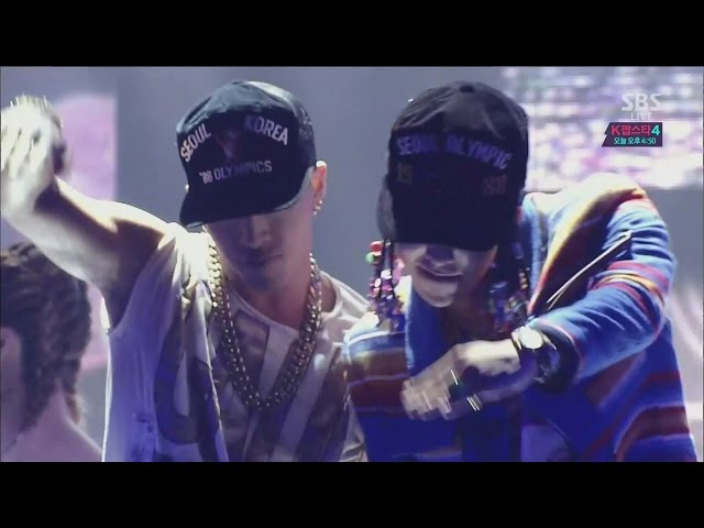 GD X TAEYANG - GOOD BOY 1207 SBS Inkigayo