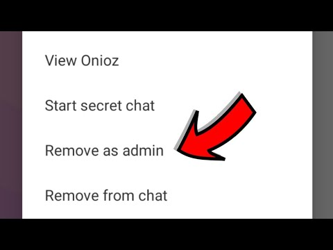 How to Remove Admin from Viber Group