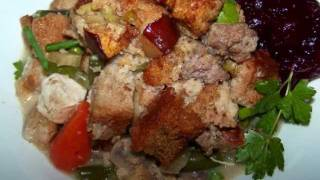 Sausage Stuffing Topped Chicken Casserole Recipe