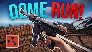 MY LUCKIEST DOME RUN EVER! - Rust Solo