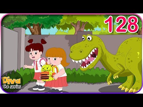 Seri Diva | Eps 128 Ada Dinosaurus di Museum | Diva The Series Official