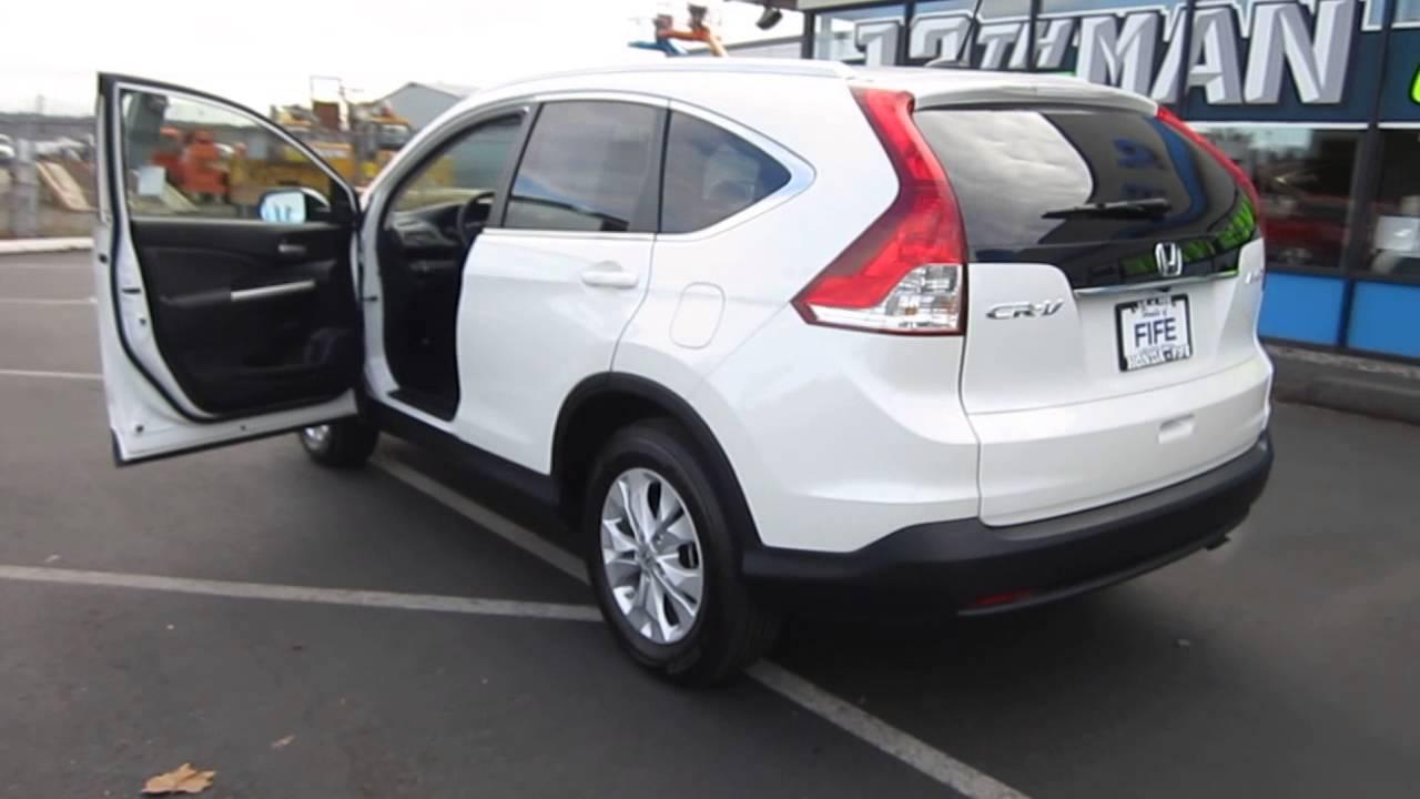 2013 Honda CR-V, White Diamond Pearl - STOCK# 731407 ...