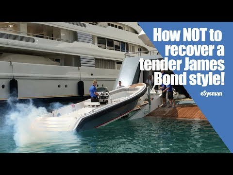 NOT Recovering a tender James Bond style!