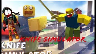 ROBLOX Knife simulator| EP 7| Xbox one| Like a boss!