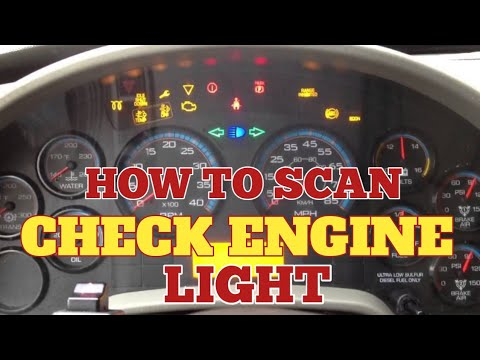 How To CHECK FAULT CODEs On INTERNATIONAL PROSTAR