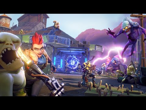 Fortnite Save The World (PvE) Gameplay
