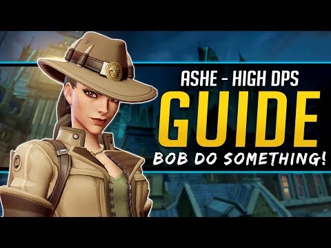 Overwatch Ashe Guide - Play like a PRO - All Abilities, Stats, and More!