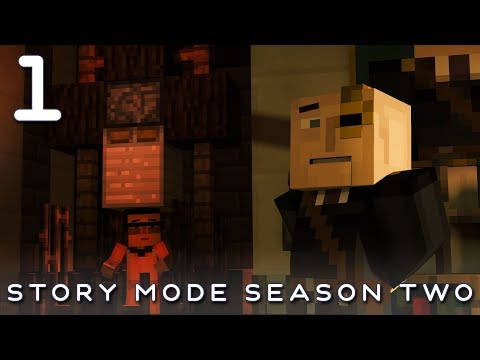 Minecraft Story Mode #1 - The Sunshine Institute - Season 2 Episode 3