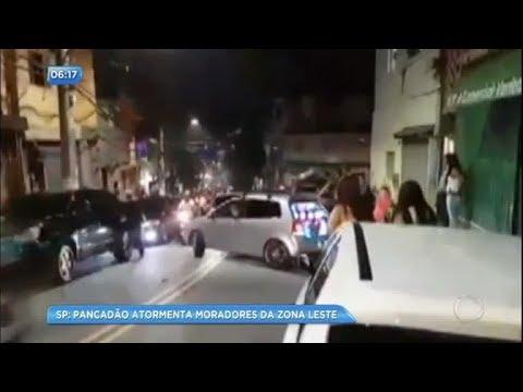 Moradores da zona leste de SP denunciam pancadões