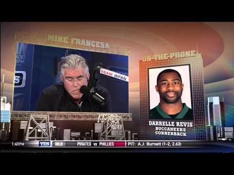 Mike Francesa interviews Darrelle Revis about the trade