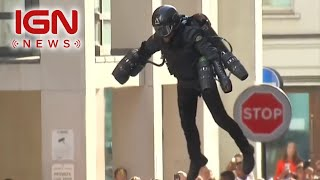 Buy Your Own Iron Man-Style Jet Suit - IGN News thumbnail
