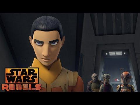 Ezra's demonstration | Star Wars Rebels | Disney XD