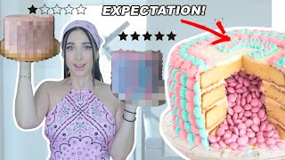 I ordered a Gender Reveal CAKE from 1 vs 5 STAR BAKERY!!