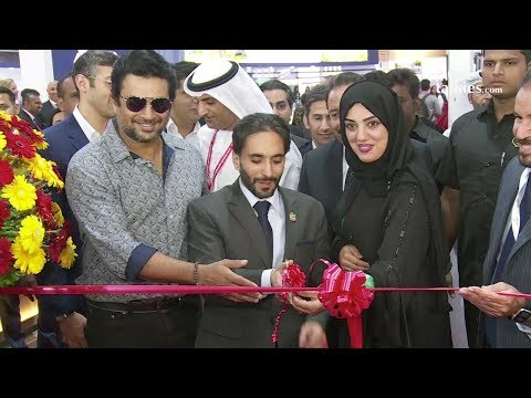 R.Madhavan At Opening Ceremony & Press Conference of Dubai Property Show 2017