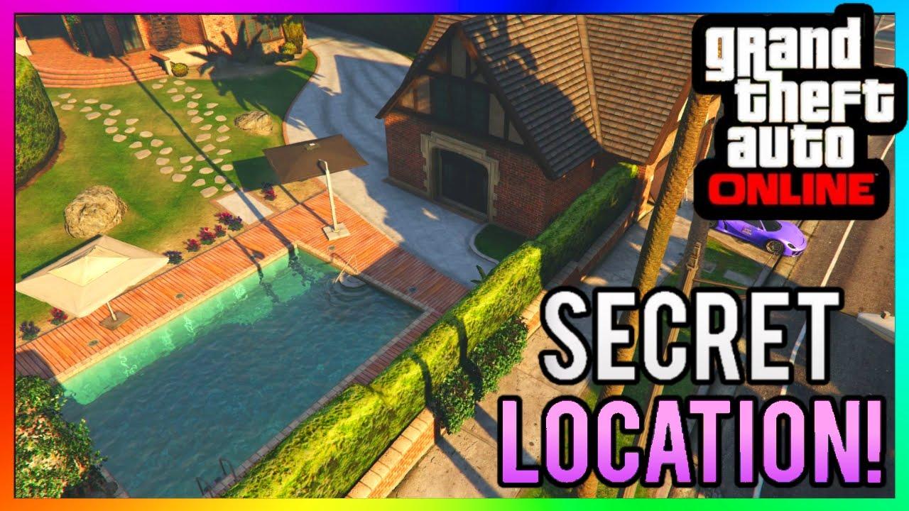 GTA 5 Online - NEW SECRET HIDDEN HOUSE WALLBREACH GLITCH LOCATION! Xbox  One/PS4/360/PS3/PC 1 27/1 37