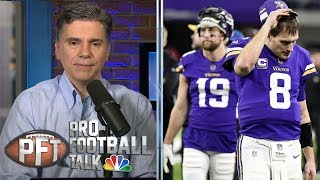 Vikings' Kirk Cousins, Adam Thielen completely mishandled situation | Pro Football Talk | NBC Sports