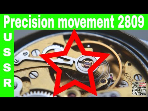 USSR Vostok Precision 2809 movement 22 jewels | Wolna warist watch | basic knowledge for collectors