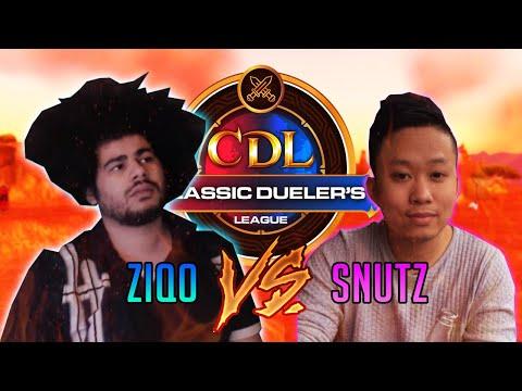 ZIQO vs. SNUTZ CDL Semi-Finals (Mage vs. Warlock Duels WoW: Classic)