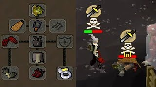 Logging In Under PKERS... MAX STR D CLAWS (OSRS)