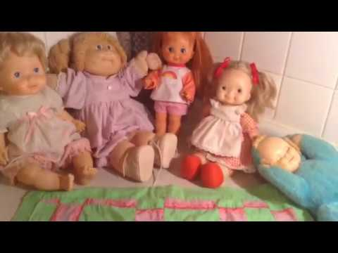 Old Dolls From My Childhood Fisher Price, Cabbage Patch, Ideal, Kickerbocker
