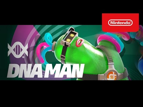 『ARMS』DNAマン参戦!