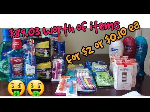 CVS Haul 7/22- 7/28/18 Free mouthwash and...