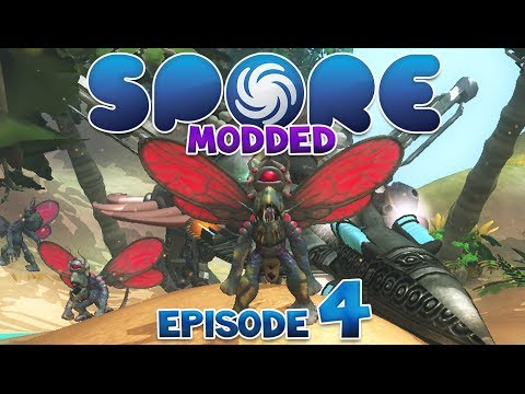 SPORE: Modded - EPIC JERK | Episode 4
