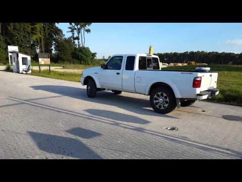 ford ranger 2004 on mud tires - youtube
