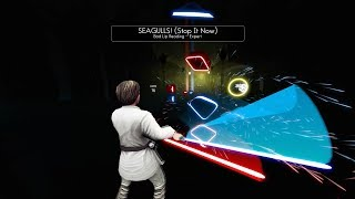 SEAGULLS! (Stop It Now) - Bad Lip Reading - Beat Saber - Expert Full Combo - Luke Skywalker