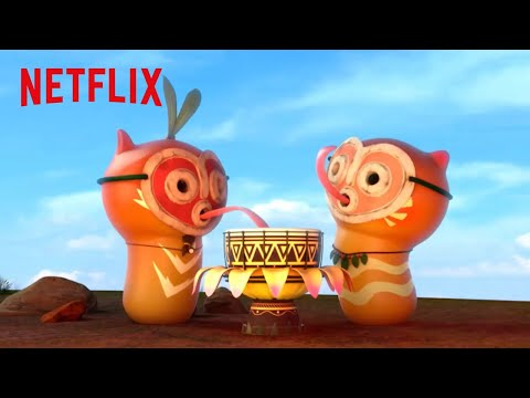 Larva Island Season 2 Official Trailer Hd Netflix Futures