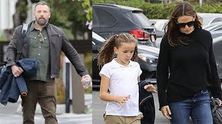 Ben Affleck Joins Jennifer Garner For Daughter's Volleyball Game