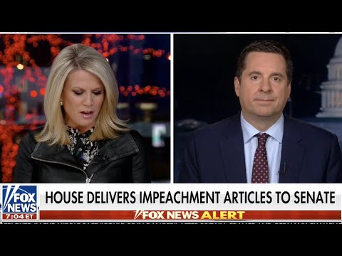 Rep. Nunes provides an impeachment update and discusses Lev Parnas' claims