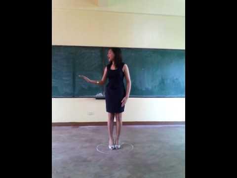 Grade 8 English Individual ang Group Performances: I AM AN AFRICAN CHILD(16)