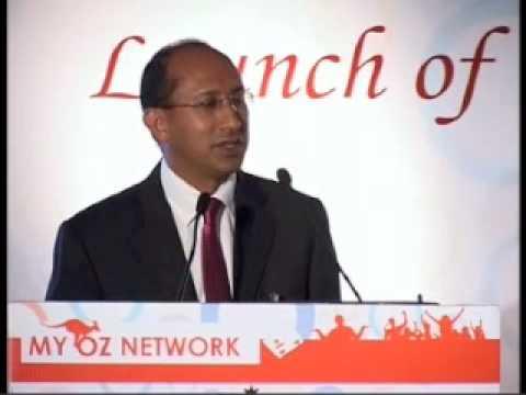 Australian high commissioner speaks