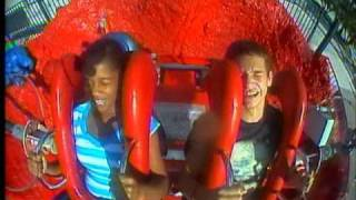 Funniest Slingshot Ride (My sis accidently pees on herself)