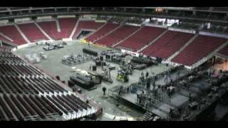 Time-lapse: Wells Fargo Arena transformation