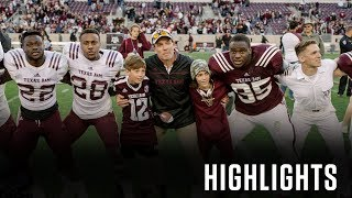 Football: Highlights | 2018 Maroon & White Game