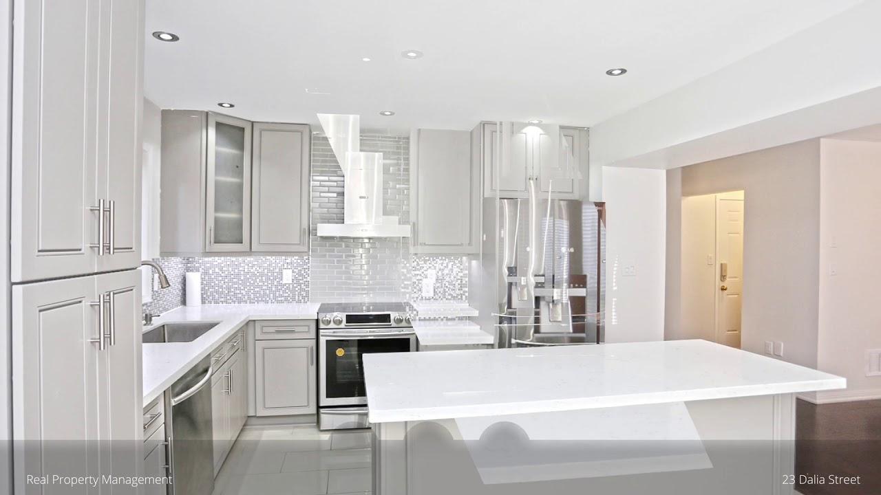 Home for sale at 23 Dalia Street, Brampton, ON - YouTube