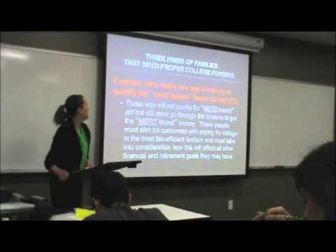 College Financial Planning Workshop