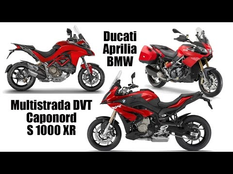 Adventure Bike Comparo | Ducati Multistrada DVT, Aprilia Caponord Touring, BMW S 1000 XR