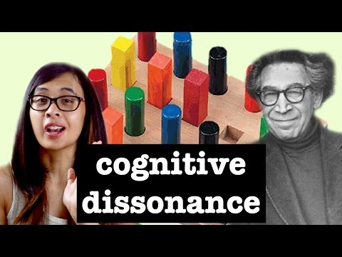 an analysis of leon festingers theory of cognitive dissonance Psychologist leon festinger proposed a theory of cognitive dissonance in his 1957 book a theory of cognitive dissonance what is cognitive behavior.