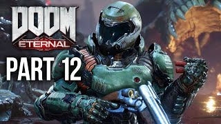 DOOM ETERNAL Gameplay Walkthrough Part 12 - NEKRAVOL PART 2