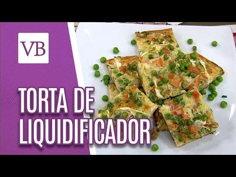 Torta de Liquidificador Sem Glúten - Você Bonita (28/05/18)