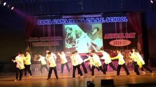 jgm school preranotsav 2016 17 2nd ab boys amithabh bhachan