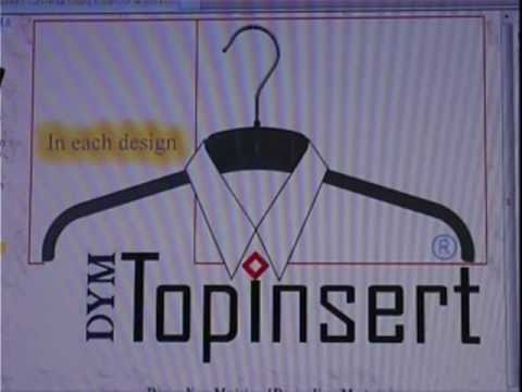 The fastest industrial clothes hanger in the world - Topinsert (at) DYM.nl