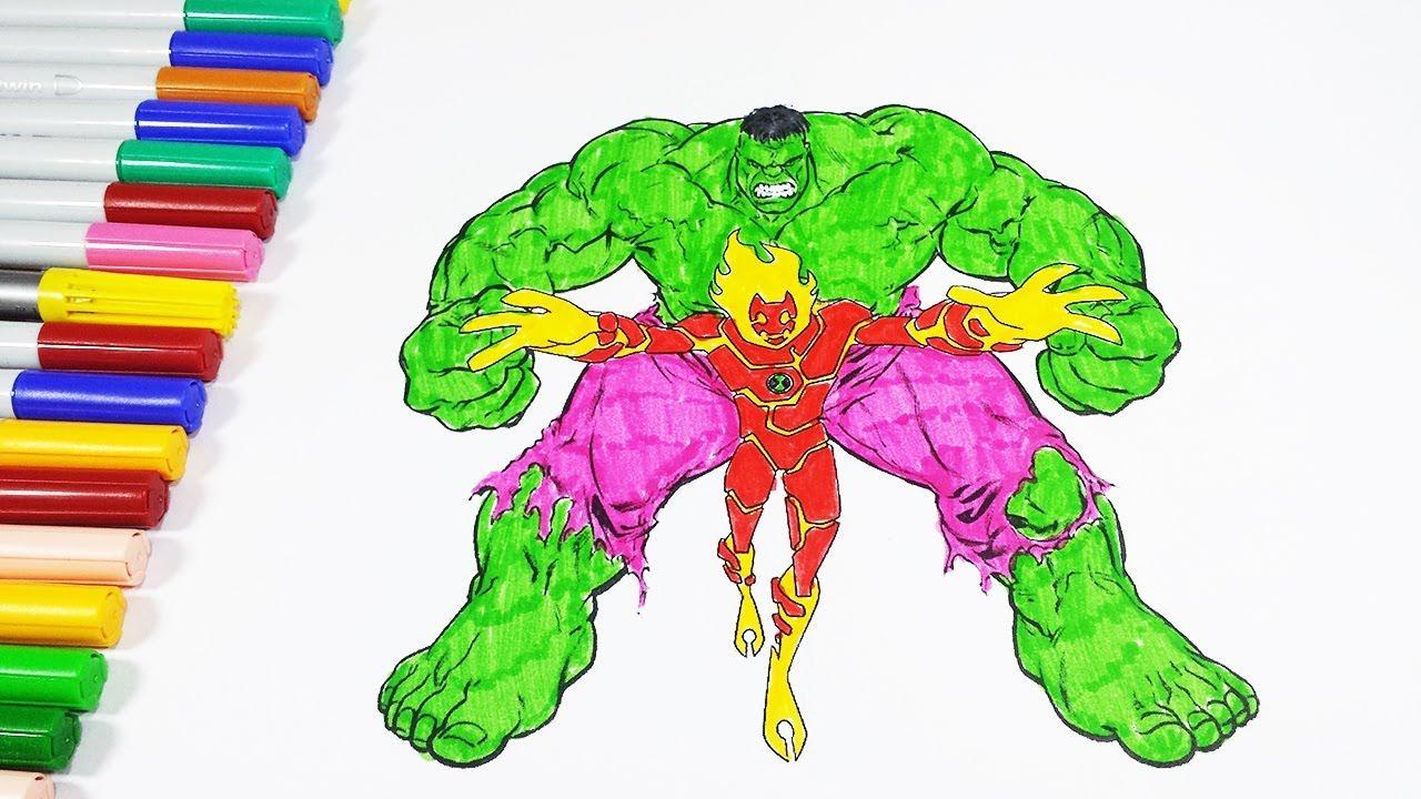 Beste Hulk Farbseite Bilder - Druckbare Malvorlagen - amaichi.info