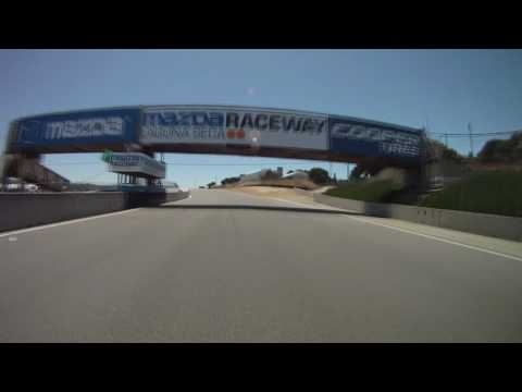 Kenyon Kluge's warm-up laps from REFUEL race at Laguna Seca. (07/11/2010)