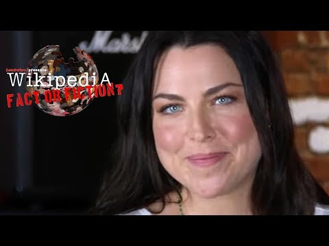 Evanescence's Amy Lee - Wikipedia: Fact or Fiction?