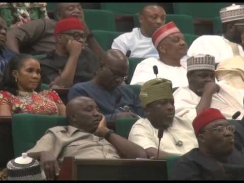 JACOB ZUMA ADDRESSES NIGERIA'S NATIONAL ASSEMBLY